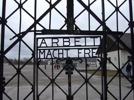 Dachau is one depressing place