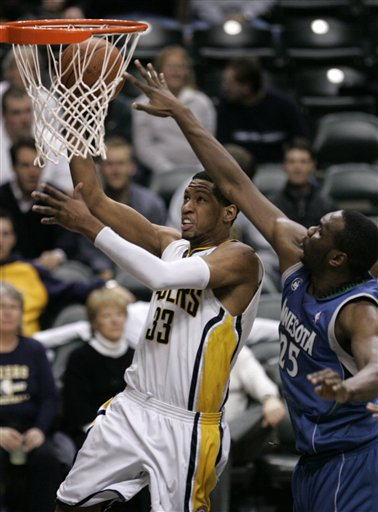 Granger scores but Pacers lose to Timberwolves