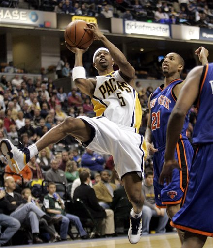 TJ Ford scores a career-high 36, but Pacers lose