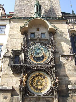 The famous Astronomical (Astrological) Clock