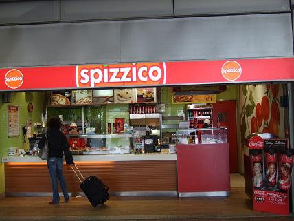 Spizzico at Roma Termini Station