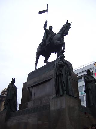 The Statue of St Wenceslas