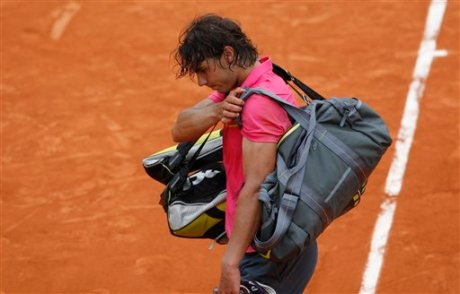 Nadal loses to Soderling at French Open 2009