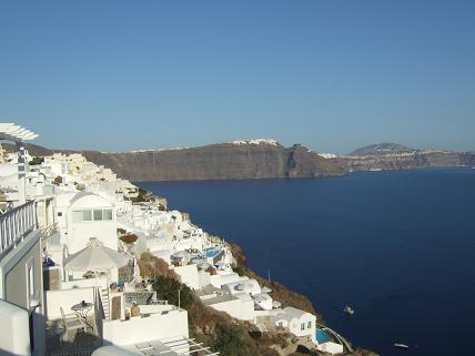 A random pic from our last stop in Santorini