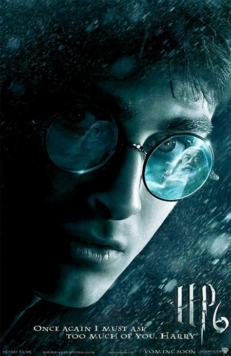 HP6 is very much Daniel Radcliffe's movie