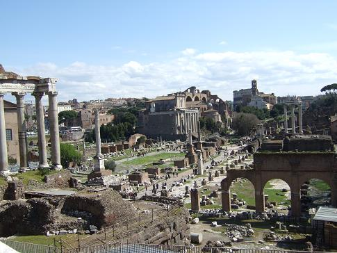 Sensational Palatine Hill in Rome