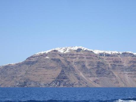 The amazing Santorini caldera
