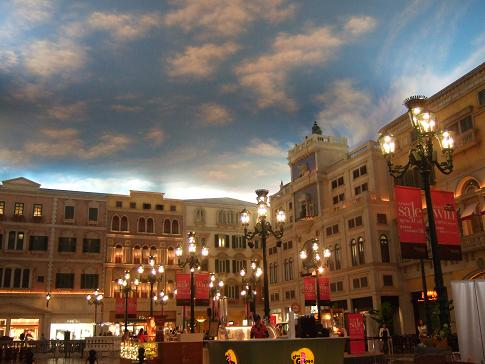 Inside the Venetian Macau