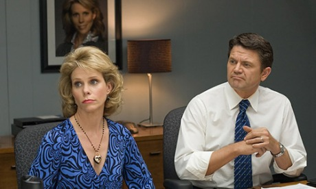 Cheryl Hines and John Michael Higgins