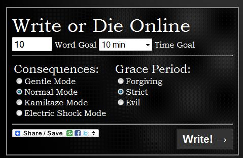 this website called     Write or Die      created by Dr Wicked mS1HDgWA